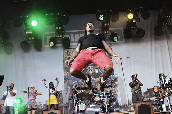 Rudimental @ Northside 2014