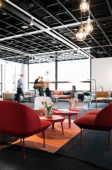 Muuto VIP lounge @ Northmodern